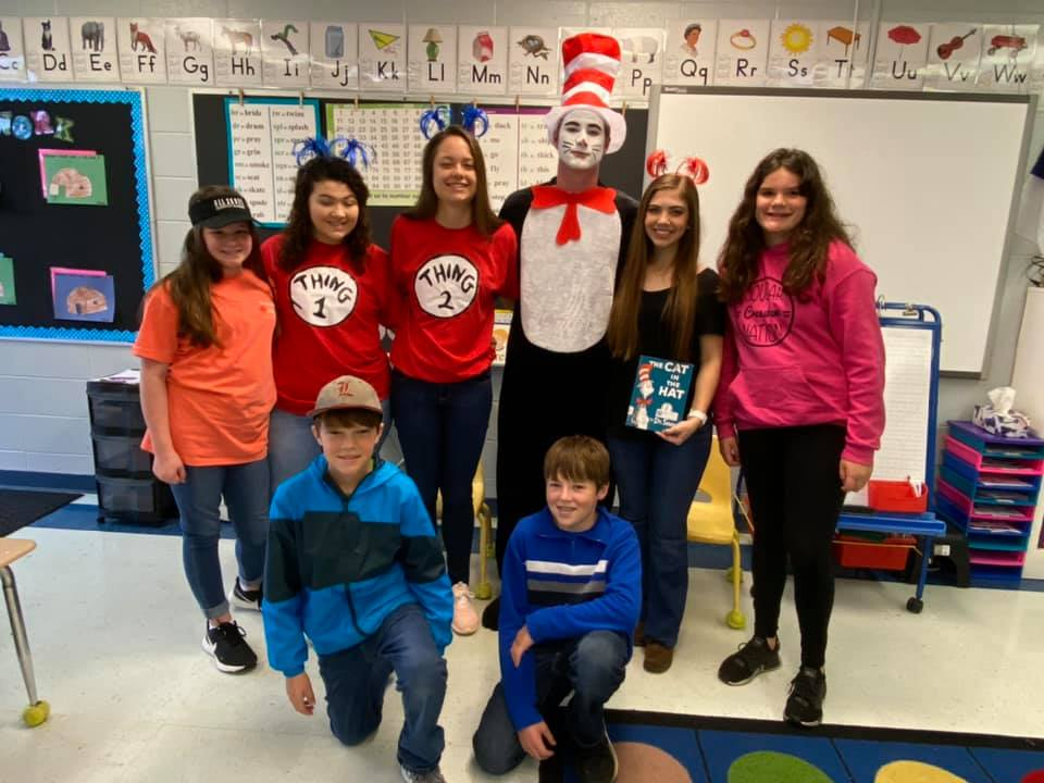Today was Cat In The Hat Day!